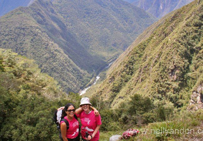 Trek Peru, The Lares Valley  Sept 2008, trekking for Charity