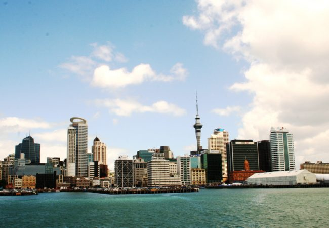 Auckland, New Zealand, the land of the Kiwi, May 2011