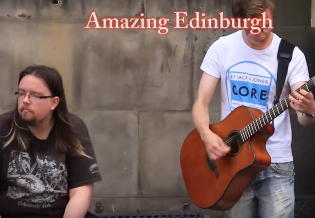 Edinburgh, the land of my favorite music