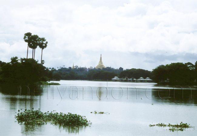 BURMA, a historical visit, April 1988