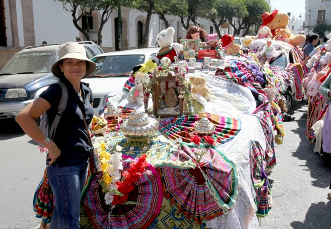 MEMORY OF THE VIRGEN DE GUADALUPE FESTIVAL IN SUCRE, BOLIVIA – 2012